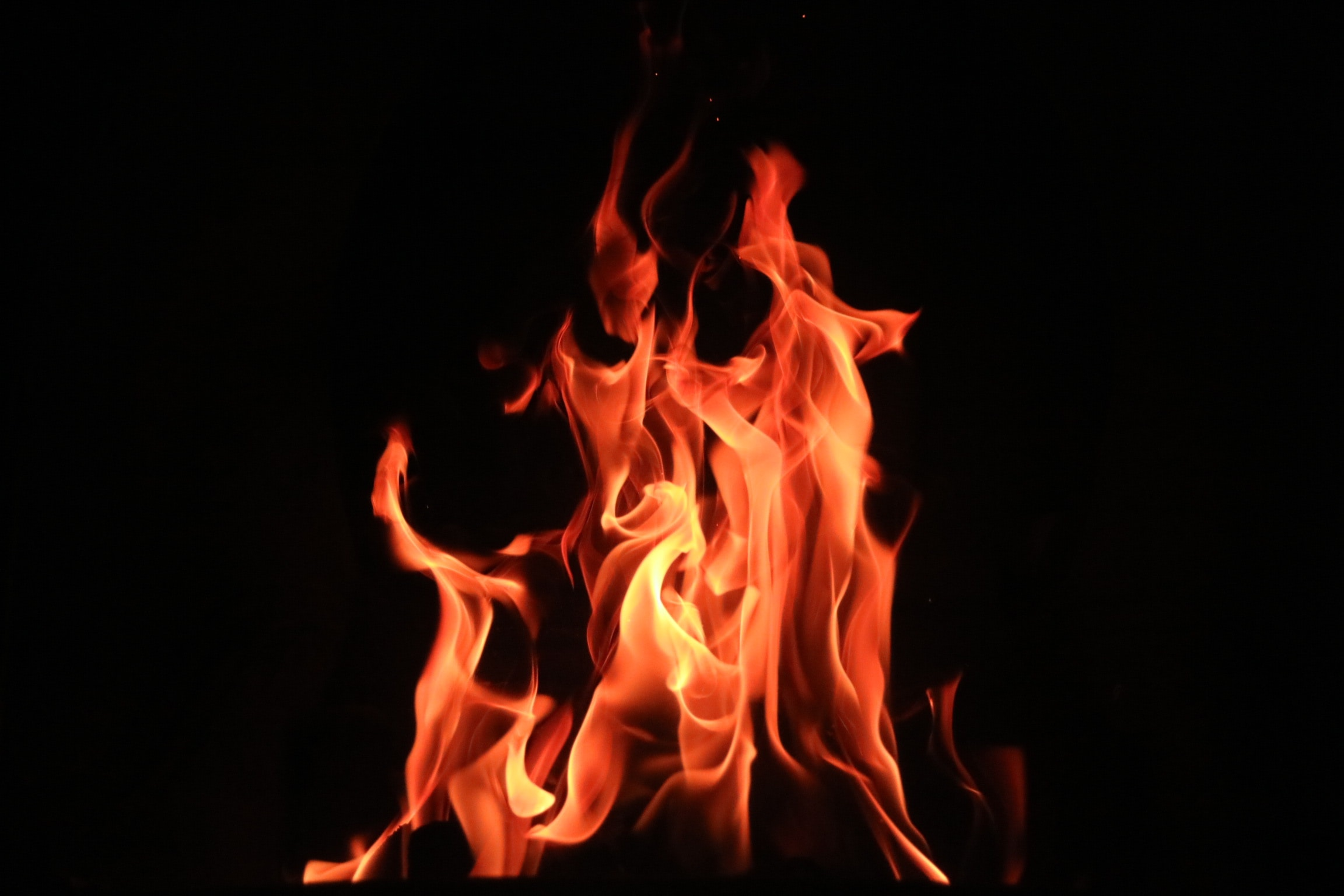 Image of a fire