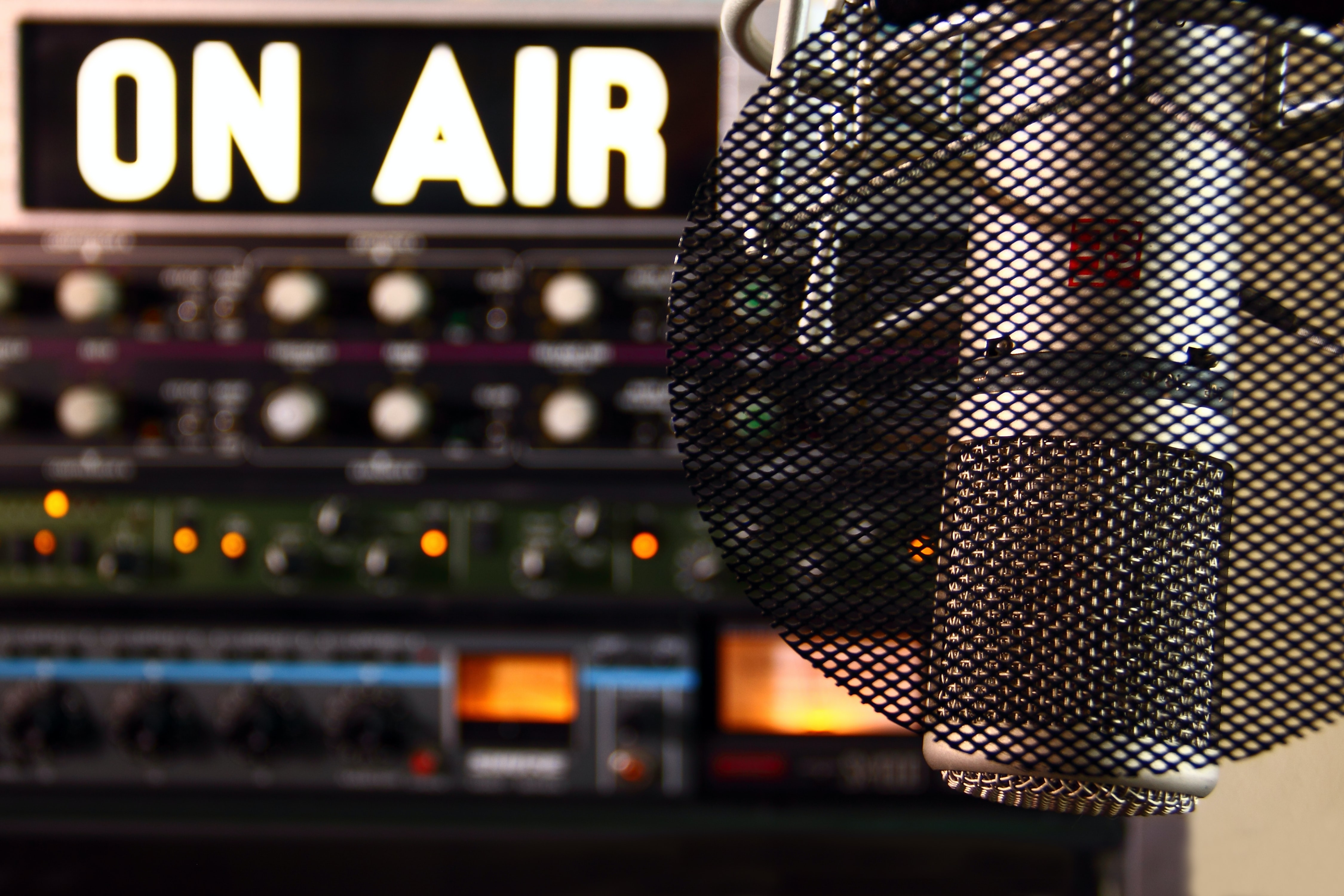 Image of a radio microphone