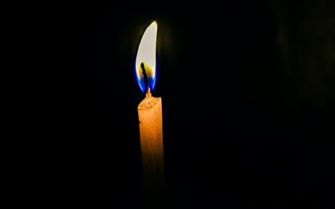 Image of a candle flame